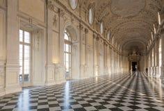 Interior de lujo del palacio Fotos de archivo libres de regalías