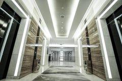 Interior de lujo del pasillo Imágenes de archivo libres de regalías