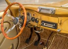 Interior de lujo del vehículo Imagen de archivo