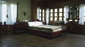 Interior de lujo de la casa, dormitorio metrajes