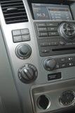 Interior de lujo moderno del coche Imágenes de archivo libres de regalías