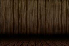 interior de madeira do grunge 3D ilustração royalty free