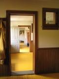 Interior de Mennonite fotografia de stock
