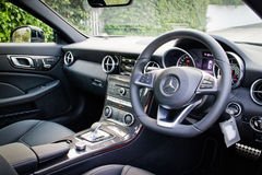 Interior 2016 de Mercedes-AMG SLC 43 Fotos de Stock Royalty Free