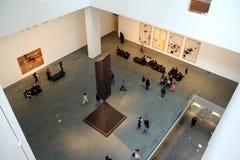 Interior de MOMA Fotos de archivo