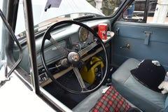 Interior 1961 de Morris Minor 1000 Imagem de Stock