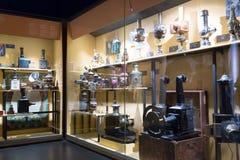Interior de Museu del Cinema en Girona Fotografía de archivo