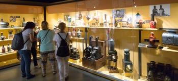 Interior de Museu del Cinema en Girona Imágenes de archivo libres de regalías