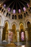 Interior de Notre Dame de la catedral, Lausanne Fotografía de archivo