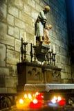 Interior de Notre Dame foto de archivo