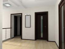 Interior de Pasillo Imágenes de archivo libres de regalías