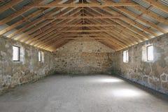 Interior de pedra da construção Fotos de Stock