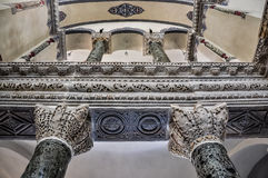 Interior de pouco Hagia Sophia fotos de stock royalty free