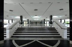 Interior de Puncak Alam Mosque en Selangor, Malasia Fotografía de archivo