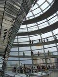 Interior de Reichstag Foto de Stock