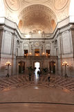 Interior de salão de cidade de San Francisco foto de stock