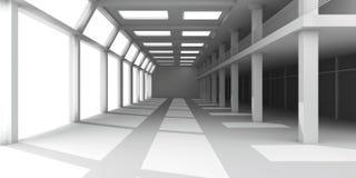 Interior de salão de entrada Imagem de Stock