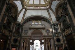 Interior de San Federico Gallery - Turín - Italia Fotografía de archivo