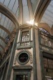 Interior de San Federico Gallery - Turín - Italia Foto de archivo libre de regalías