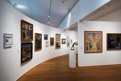 Interior de San Telmo Museum en San Sebastián Fotos de archivo libres de regalías