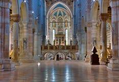 Interior de San Zeno fotos de archivo libres de regalías