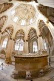 interior de Santa Maria da Vitoria Monastery, Batalha, Estremadu fotografia de stock