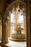 interior de Santa Maria da Vitoria Monastery, Batalha, Estremadu fotografia de stock royalty free
