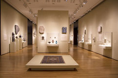 Interior de Seattle Art Museum Fotografía de archivo
