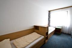 Interior de Standart do hotel Imagens de Stock