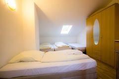 Interior de Standart do hotel Fotografia de Stock Royalty Free