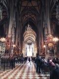 Interior de Stephansdom Foto de Stock Royalty Free