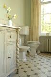 interior de um banheiro Fotos de Stock Royalty Free