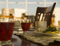 Interior de um café da manhã. Foto de Stock
