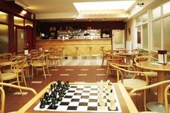 Interior de um café Fotografia de Stock Royalty Free
