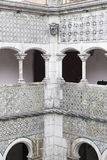Interior de um castelo em Sintra Fotos de Stock