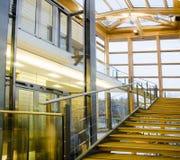 Interior de um centro de negócios Imagens de Stock Royalty Free