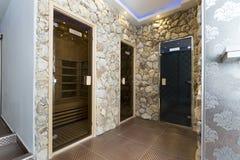 Interior de um centro do bem-estar dos termas do luxo Fotos de Stock Royalty Free