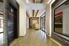 Interior de um centro do bem-estar dos termas do luxo Foto de Stock Royalty Free