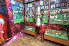 Interior de um dos salões de Samara Military History Muse Imagem de Stock Royalty Free