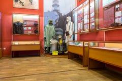 Interior de um dos salões de Samara Military History Muse Fotografia de Stock