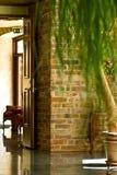 Interior de um edifício imagens de stock royalty free