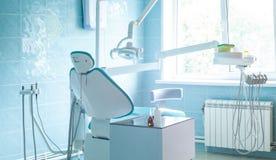Interior de um escritório dental moderno fotografia de stock
