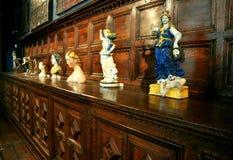 Interior de um museu em Italy Foto de Stock