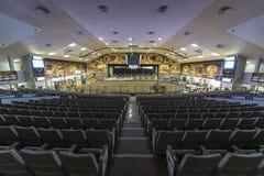 Interior de um palácio famoso do milho Imagem de Stock