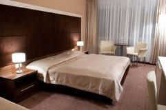 Interior de um quarto de hotel Fotografia de Stock Royalty Free