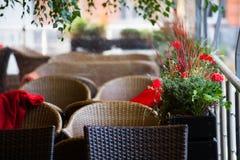Interior de um restaurante fotografia de stock royalty free