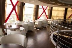 Interior de um restaurante Imagem de Stock