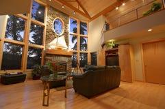 Interior de uma casa de gama alta Fotos de Stock Royalty Free