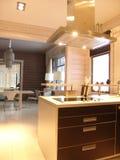 Interior de uma cozinha foto de stock