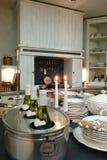 interior de uma cozinha fotografia de stock
